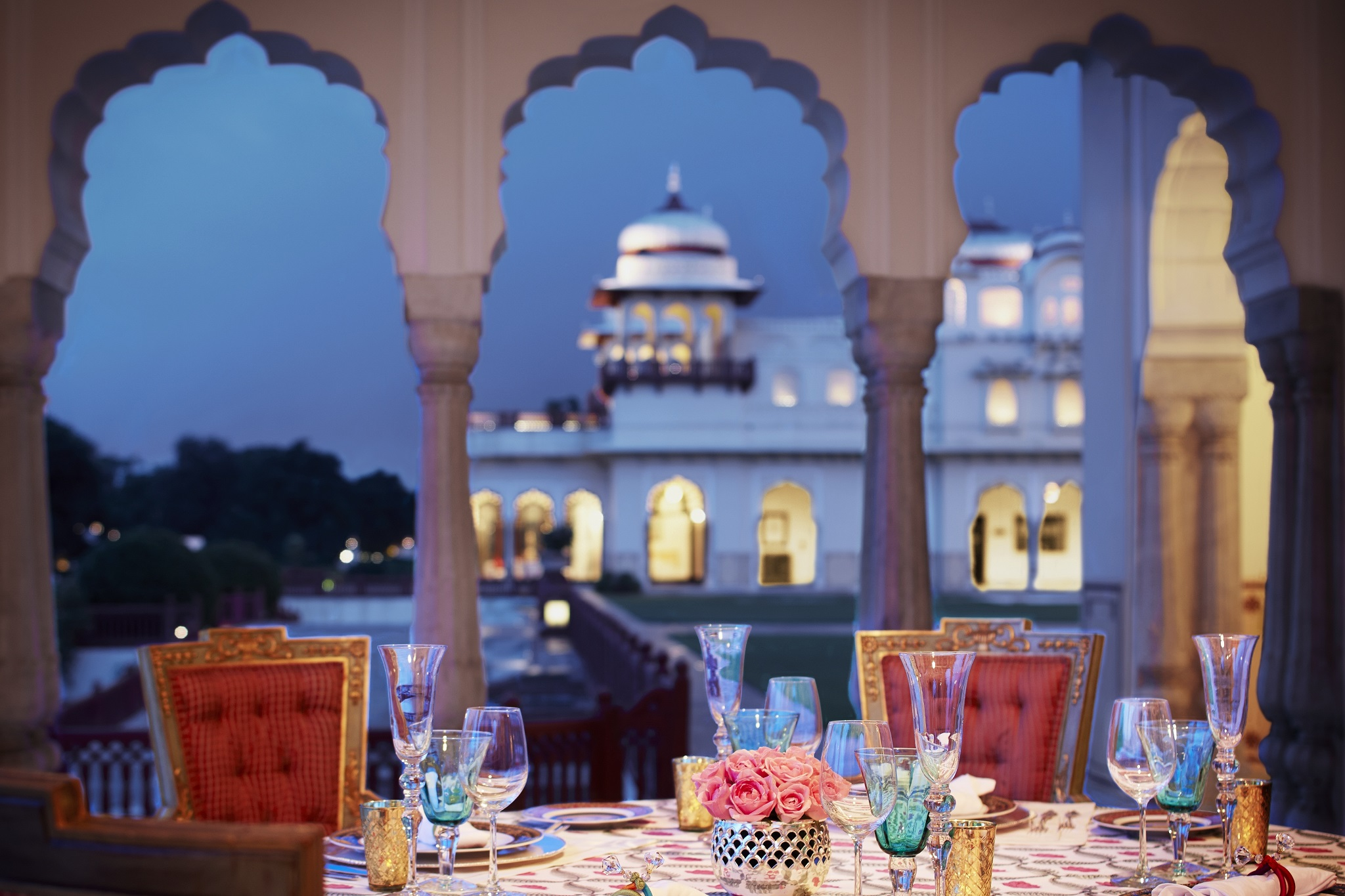 The Rambagh Palace, India