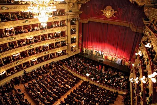 Teatro alla Scala Experience e Grand Hotel et de Milan, Italy