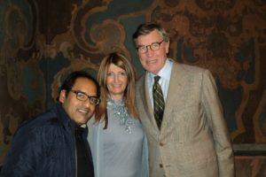 Villa Erba con Mr. Droulers e Vineet Gopal