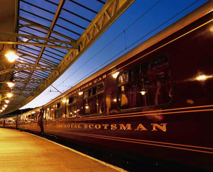 Luxury Train Belmond Royal Scotsman, United Kingdom